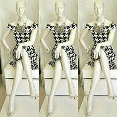 WEBSTA @ galeratricot - Vestido estampa pied poule✔ Temos cores e tamanhos disponíveis.✔ Preços diferenciados para atacadistas.#collection #summer #instafashion #tendência #piedpoule #dress #look #girl #fashion #glam #brasil #mg #primaveraverao2017 #black #white #instagram #lovers #clientes #galeratricotjk