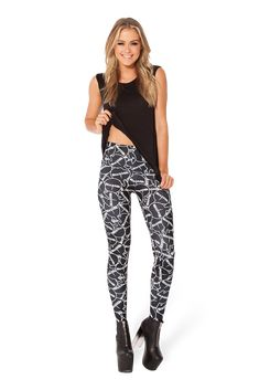 Sticker Leggings by Black Milk Clothing >> ones I got are not HWMF because I got them at a sample sale :)