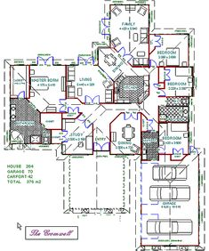 New House Plan Two Story Four Bed Room in India | Ideas for the ...