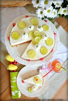 Cheesecake lime e cocco/ Lime and coconut no bake cheesecake
