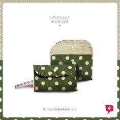 Necessaire Envelope Sorvete de Kiwi R$18.00 Facial Tissue, Store, Envelope, Stuff Stuff, Envelopes, Business, Shop, Storage