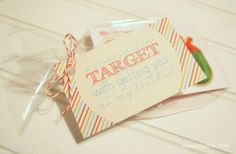 {teacher gifts for end of the year}  3 cute printables to go with gift cards to Target, Sonic & Applebee's  by lolly jane boutique