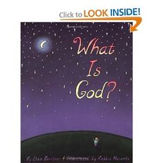Aiden and I love this book. It focuses on how people of all different kinds of religions view God and the similarities they have. Leaves them with the message that we are all connected and God is all of us and is everything.  Excellent for getting a good dialogue going with your kiddo.