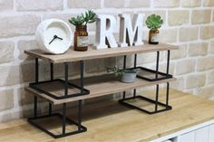DIY shelves that can be easily painted and put on ceria products ♪ - No need for a saw! DIY shelf that is easy to paint and put on with ceria products   LIMIA # - Diy Crafts To Do, Home Crafts, Decor Crafts, Diy Soap Holder, Diy Regal, Diy Kit, Diy Garden, Sell Diy, Diy Interior