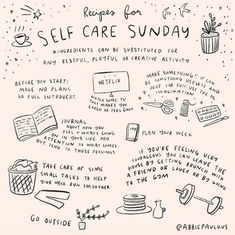 self care routine * self care . self care quotes . self care routine . self care products . self care aesthetic . self care tips . self care checklist . self care bullet journal Motivacional Quotes, Care Quotes, Self Care Activities, Love Illustration, Self Care Routine, Happy Sunday, Sunday Love, Sunday Special, Journal Inspiration