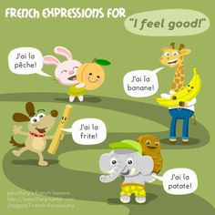 """French Expressions for """"I feel good!"""""""