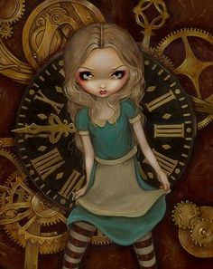 AiW in Steampunkland by Jasmine Becket-Griffith