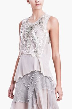 Elie Tahari | Clancy Embellished Blouse