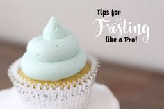 Tips for Frosting cu