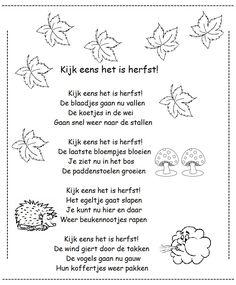 * Versje: Kijk eens het is herfst!
