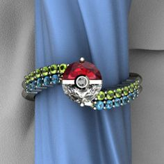 Trainer's band « Art and Gems Jewelers #Pokemon #Engagement #Ring
