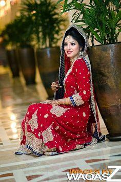 Pakistani Bridal Sessions..... Pakistani Gowns, Pakistani Wedding Outfits, Pakistani Bridal Wear, Bridal Outfits, Bridal Dresses, Pakistani Couture, Indiana, Asian Bridal, Desi Clothes