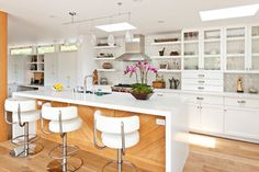 NICE   Paradise Cove - contemporary - kitchen - los angeles - Kirsten Marie Inc, KMI