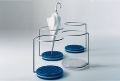 Goccia umbrella stand, designed by Boccato-Gigante-Zambusi in 1983 for Magis.  Get The Originals at www.2ndfloor.gr