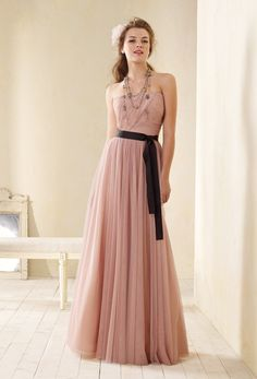 Holly Durst's Alfred Angelo bridesmaid dresses