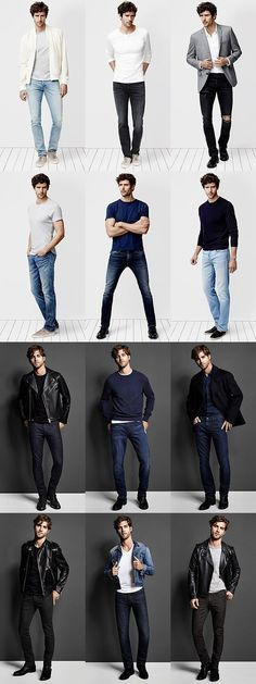 J Brand Men's Jeans Lookbook #mensjeansguide #mensjeansbrands