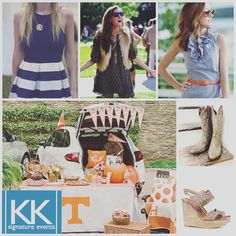#Sundaygameday means it's finally #tailgatetime! Dress to impress at your tailgate, but don't forget to wear comfortable shoes! Cowboy Boots are a Nashville staple, and you can easily find a cute pair like these at #bootcountrynashville. If heels are more your style, go for comfortable wedges like these by @toryburch. #SignatureEventsNashville #EventPlanning