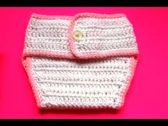 In this video you will learn how to #crochet this #diaper cover. This is the basic diaper cover I will be using to create several sets which include matching...