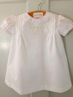 Infant dress for Julia