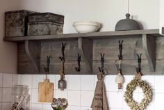Plate Racks, Curtain Ties, Kitchen Styling, Bed And Breakfast, Barn Wood, Track Lighting, My House, Sweet Home, New Homes