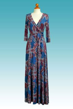 Details & CareAdd a little fun to your wardrobe with Red Apparel's 3/4 sleeve wrap dress featuring a flattering twist detail.・ 95% polyester, 5% spandex.・ Hand wash cold. Hang or line dry・ Approx. length from shoulder to hem: 56 ~ 58・ pattern ...
