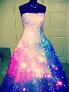 Galaxy dress....maybe if i marry an astronaut...