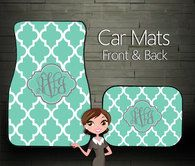 Car Mats, Trendy Design
