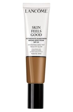 Lancôme Skin Feels Good Hydrating Skin Tint Healthy Glow SPF 23 (Nordstrom Exclusive) in 12W Sunny Amber