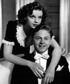 Mickey Rooney and Judy Garland. Big Screen Legend Mickey Rooney Dies at 93 RIP Mickey Thanks for all the Entertainment! you are a Bright Star in Heaven now!