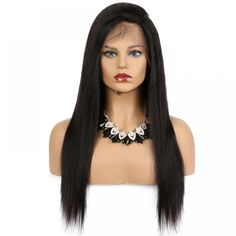 Lace Front Human Hair Wigs For Black Women Remy Brazilian Straight Black Hair Pre Plucked With Natural Hairline King Rosa Queen Human Hair Lace Wigs, Remy Human Hair, Human Hair Wigs, Remy Hair, Straight Black Hair, Long Black, Quality Wigs, Cheap Human Hair, Synthetic Lace Front Wigs