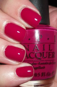 OPI Miami Beet Nail Polish Color - manicure, red, berry