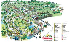 Park Map | Dutch Wonderland | Lancaster, PA