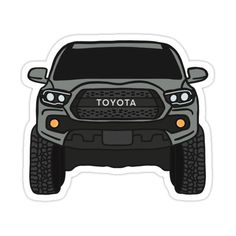 Blue Toyota Tacoma, Blue Tacoma, Toyota Tacoma Trd Pro, Toyota Corolla, Truck Stickers, Car Decals, Tacoma World, Tacoma Truck, Truck Mods