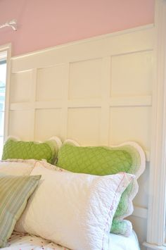 Evolution of Style: paneled headboard tutorial