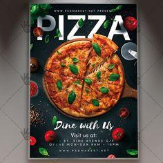 Graphic Design Services - Hire a Graphic Designer Today Pizza Menu Design, Pizzeria Design, Food Menu Design, Restaurant Advertising, Restaurant Flyer, Restaurant Menu Template, Pizza Flyer, Menu Flyer, Flyer Layout