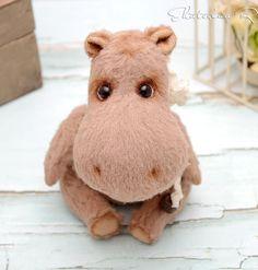Teddy Hippo   Тедди бегемотик — Купить, заказать, игрушка, кукла, интерьер, декор, бегемот, бегемотик, тедди