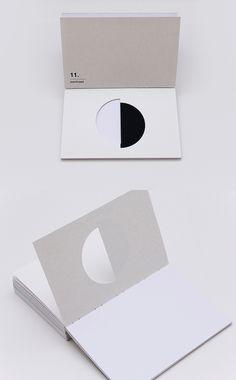 Visual Language by Jiani Lu, via Behance. something new underneath