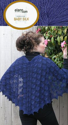 Moonlight Sonata Shawl FREE PATTERN ♥ 3000 FREE patterns to knit ♥ GO TO: pinterest.com/.... for 3000 FREE patterns to KNIT