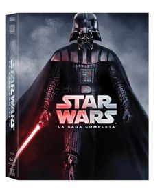 Star Wars - La Saga Completa (9 Blu-Ray) (Blu Ray NUOVO)