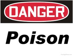 Print Out Free Danger Chlorine Sign. Printable Danger Chlorine Signs in PDF Format. Danger Signs, Printables, Irrigation, Store, Birthday Parties, Ideas, Anniversary Parties, Birthday Celebrations