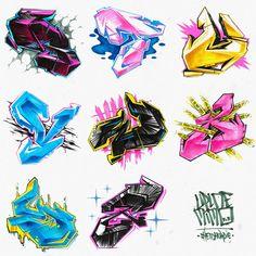Graffiti Lettering Alphabet, Hand Lettering, Monkey Art, Graffiti Designs, Graffiti Characters, Art Drawings, Character Design, Behance, Creative
