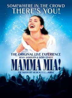 I have seen this. Three times. Live. To be watched again and again. Guaranteed happiness! #mammamia!