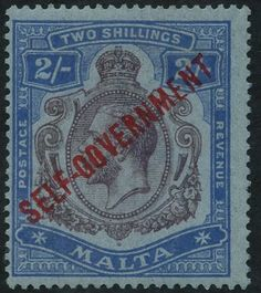 Malta 1922 MSCA 2s 'break in scroll,' fine M, SG.120a. (1) Cat. £300  Lot condition *  Dealer Corbitts Stamps  Auction Starting Price: 100.00 GBP