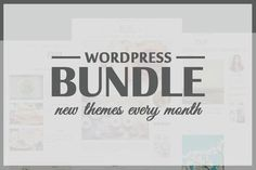 Wordpress Theme Bundle - All Shop by Pankogut on Creative Market