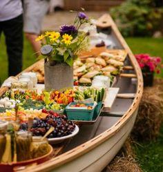 Canoe Table - SimpleBites.net