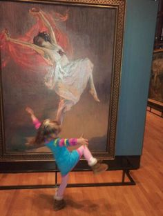 I want to discuss/explore a piece of art with the kids once a week this summer...and this will be my guide: How to Enjoy Art WIth Your Children