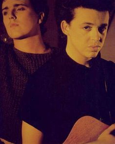 Tears for fears - c'mon you know you love em!