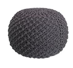 MERYL Pouf à commander tranquillement en ligne - micasa. Interior Decorating, Sweet Home, Crochet Hats, Boutique, Home Decor, Santa, Interiors, Living Room, House