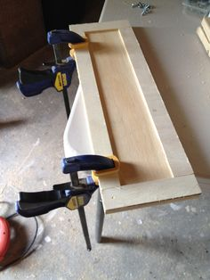 Instructions to build paneled fronts.