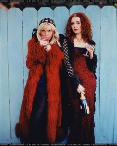 Courtney Love & Melissa auf der Maur